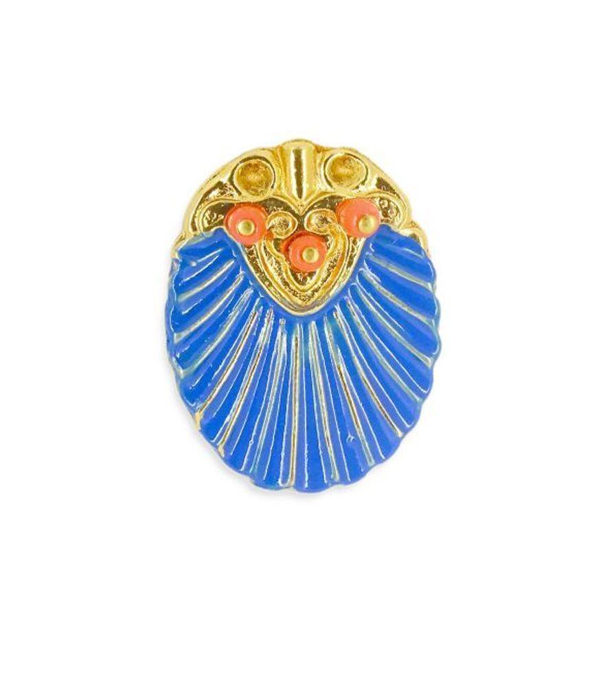 Anel Camafeu Azul